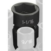 """Grey Pneumatic 2034U 1/2"""" Drive x 1-1/16"""" Standard Universal Socket"""