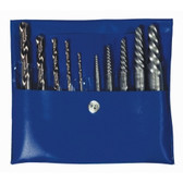 Irwin 11117 10pc Set Screw Extractor w/Cobalt Drill Bits