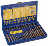 Irwin 11135 Screw Extractor and Drill Bit Set, 35 Piece