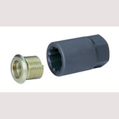 "Grey Pneumatic 2515 1-1/8"" Inner Cap Nut Remover Socket"