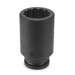 "Grey Pneumatic 3130D 3/4"" Drive x 15/16"" Deep - 12 Point Socket"