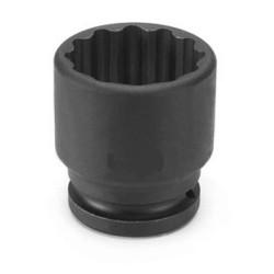 "Grey Pneumatic 3146R 3/4"" Drive x 1-7/16"" Standard - 12 Point Socket"