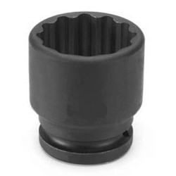 "Grey Pneumatic 3164R 3/4"" Drive x 2"" Standard - 12 Point Socket"