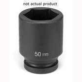 "Grey Pneumatic 4024MD 1"" Drive x 24mm Deep Socket"