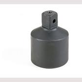 """Grey Pneumatic 5008A #5 Spline Female x 3/4"""" Male Adapter w/ Pin Hole Socket"""