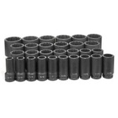 "Grey Pneumatic 8129D 3/4"" Dr. 29 Piece Deep Fract. Master Set - 12 Point"