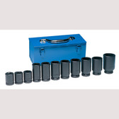 "Grey Pneumatic 8133 3/4"" Drive 11 Piece Deep Metric Set"