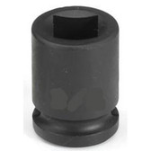 "Grey Pneumatic 1011FP 3/8"" Drive x 11/32"" Square Female Pipe Plug Socket"