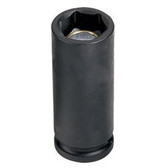 "Grey Pneumatic 1011MDG 3/8"" Drive x 11mm Magnetic Deep Socket"