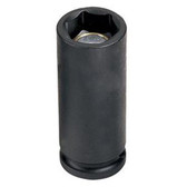 "Grey Pneumatic 1017MDG 3/8"" Drive x 17mm Magnetic Deep Socket"