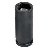 "Grey Pneumatic 1017MDG 3/8"" Drive x 17mm Magnetic Deep Socket"
