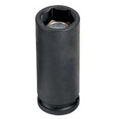 "Grey Pneumatic 1018MDG 3/8"" Drive x 18mm Magnetic Deep Socket"