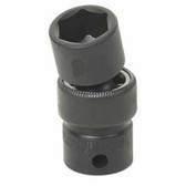 "Grey Pneumatic 1019UM 3/8"" Drive x 19mm Standard Universal Socket"