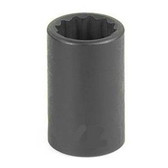 "Grey Pneumatic 1119M 3/8"" Drive x 19mm 12 Point Standard Socket"