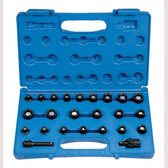 "Grey Pneumatic 1224G 3/8"" Dr. 24 Pc. Std. Length SAE/Metric Magnetic Set"