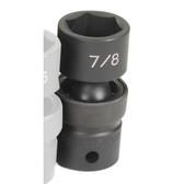 """Grey Pneumatic 2028U 1/2"""" Drive x 7/8"""" Standard Universal Socket"""