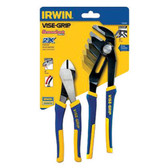 Irwin Vise-Grip 1802535 2pc Pliers Set GV10R & DIA8A