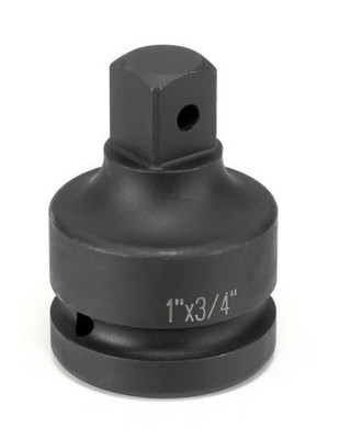 "Grey Pneumatic 4008AL 1"" Female x 3/4"" Male Adapter w/ Locking Pin Socket"