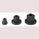 "Grey Pneumatic 938RA 1/4"" F x 3/8"" M Reducing Sleeve Adapter"