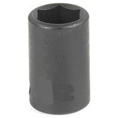 "Grey Pneumatic 1008M 3/8"" Drive x 8mm Standard Socket"