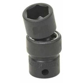 "Grey Pneumatic 1012UM 3/8"" Drive x 12mm Standard Universal Socket"