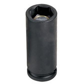 "Grey Pneumatic 1014MDG 3/8"" Drive x 14mm Magnetic Deep Socket"