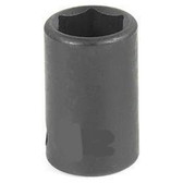 "Grey Pneumatic 1024R 3/8"" Drive x 3/4"" Standard Socket"