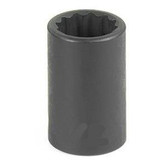 "Grey Pneumatic 1110R 3/8"" Drive x 5/16"" 12 Point Standard Socket"