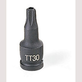 "Grey Pneumatic 927TT 1/4"" Dr. x TT27 Tamper Proof Star Driver"
