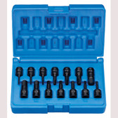 "Grey Pneumatic 9298HC 1/4"" Drive 14 Pc. Impact Hex Driver Set."
