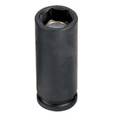 "Grey Pneumatic 1012MDG 3/8"" Drive x 12mm Magnetic Deep Socket"