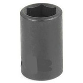 "Grey Pneumatic 1014R 3/8"" Drive x 7/16"" Standard Socket"