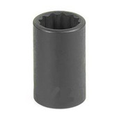 "Grey Pneumatic 1114M 3/8"" Drive x 14mm 12 Point Standard Socket"