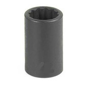 "Grey Pneumatic 1118R 3/8"" Drive x 9/16"" 12 Point Standard Socket"
