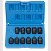 "Grey Pneumatic 1211P 3/8"" Drive, 11 Pc. Pipe Plug Socket Set"