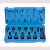 "Grey Pneumatic 1235TT 12 Pc. 1/4"", 3/8"", 1/2"" Tamper-Proof Star Driver Set"