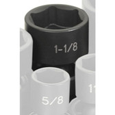 """Grey Pneumatic 2036U 1/2"""" Drive x 1-1/8"""" Standard Universal Socket"""