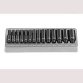 "Grey Pneumatic 9714MD 1/4"" Surface Drive 14 Piece Deep Metric Set"