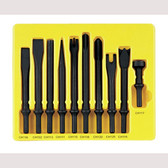 Grey Pneumatic CS110 Pneumatic Bit Set, 10 Piece, .401 Shank