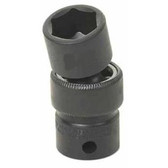 "Grey Pneumatic 1018UM 3/8"" Drive x 18mm Standard Universal Socket"