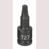 "Grey Pneumatic 927T 1/4"" Drive x T27 Internal Star Impact Driver"