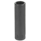 "Grey Pneumatic 1008MD 3/8"" Drive x 8mm Deep Socket"