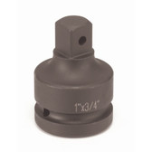 "Grey Pneumatic 4008A 1"" Female x 3/4"" Male Adapter w/ Pin Hole Socket"