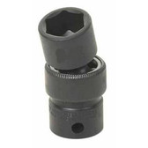"Grey Pneumatic 1017UM 3/8"" Drive x 17mm Standard Universal Socket"