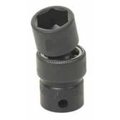 "Grey Pneumatic 1017UM 3/8"" Drive x 17mm Standard Universal Socket"