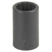 "Grey Pneumatic 1110M 3/8"" Drive x 10mm 12 Point Standard Socket"