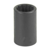 "Grey Pneumatic 1112R 3/8"" Drive x 3/8"" 12 Point Standard Socket"