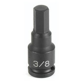 "Grey Pneumatic 1905M 3/8"" Drive x 5mm Hex Driver Socket"
