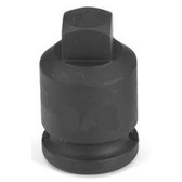 "Grey Pneumatic 1010PP 3/8"" Drive x 5/16"" Square Male Pipe Plug Socket"
