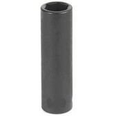 "Grey Pneumatic 1014D 3/8"" Drive x 7/16"" Deep Socket"